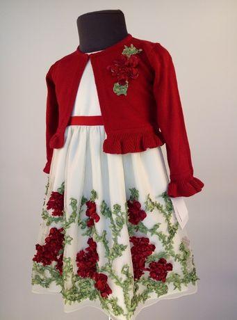 Плаття суконка дитяча зр. 92-98 см, Костюмчик: Кофта + плаття
