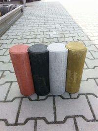 PROMOCJA. Palisada betonowa 30cm fi 10cm >SZARA gat 1. 10,5szt/metr.