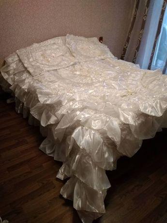 Элитное свадебное покрывало