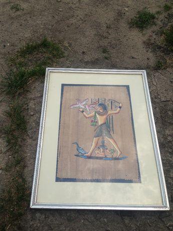 Egipcjanin rycina, obraz