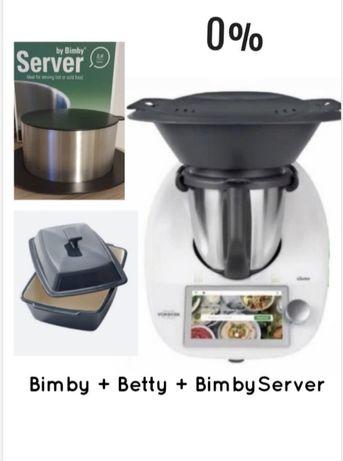 Promoção de Maio: Bimby TM6+Betty+Thermoserver=31€/Mês