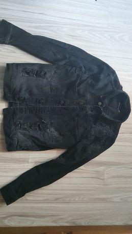 kurtka jeansowa - S