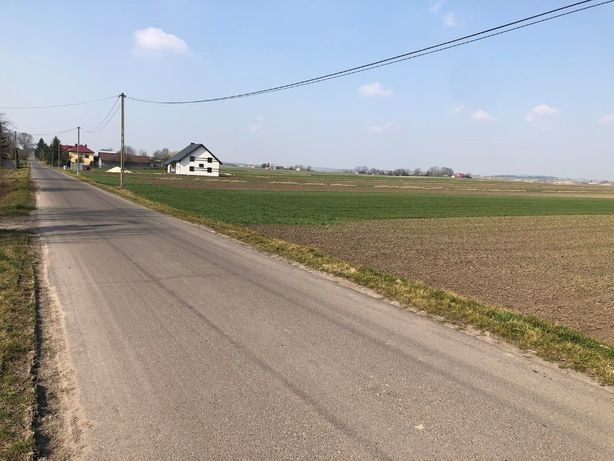 Działka budowlana 18km od Krakowa, woda, prąd, gaz na działce
