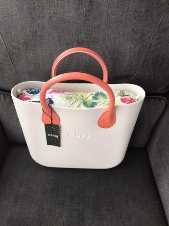 O bag mini oryginalny komplet LATTE nowy zestaw