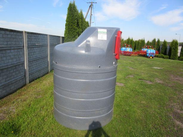 Zbiornik dwupłaszczowy na olej napędowy ON diesel paliwo Dystrybutor