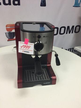 Кофемашина кофеварка Klarstein Passionata Rossa 15