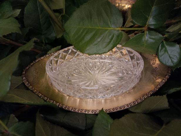 E.P.N.S. naczynie kryształ ,plater Antyk.