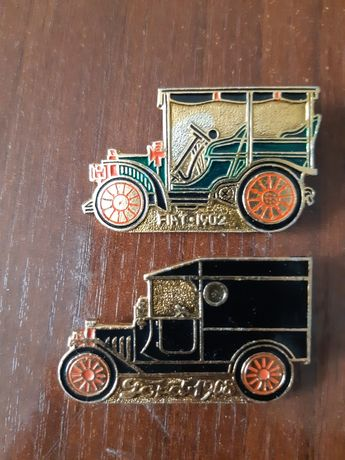 Продаю значки машины 1902,1908, 1935, 1927 гг.