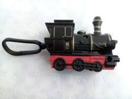 Паровоз (пластик, брелок), паровозик на карабине, игрушка