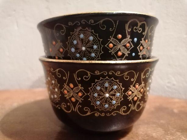 Angielska ceramika - miseczki ręcznie malowane