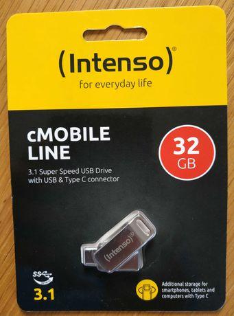 Pendrive cmobile line C i USB 32gb  i USB 2 nowy