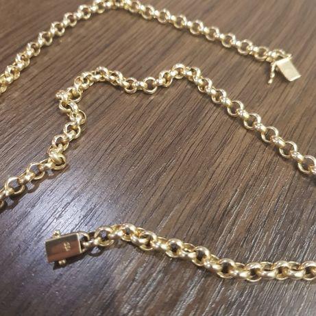 Złoty łańcuszek próba 750
