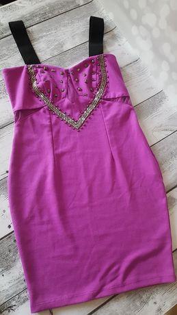 Sukienka Love Label rozmiar 10 dopasowana