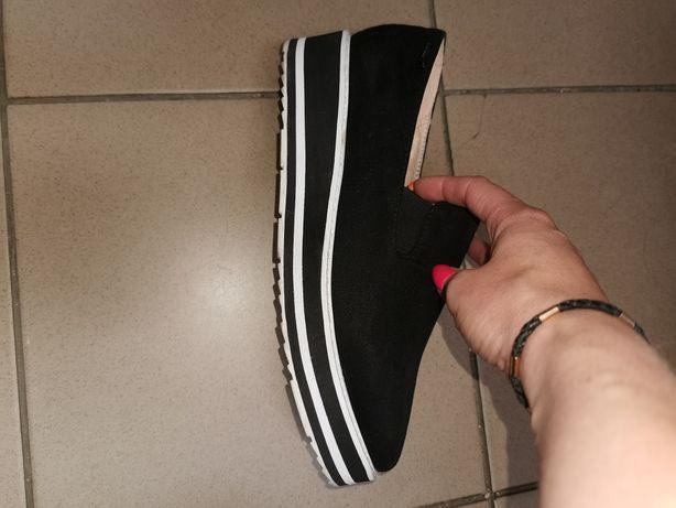 Макас, туфель замшевый