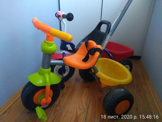 Велосипед ровер помаранчевий