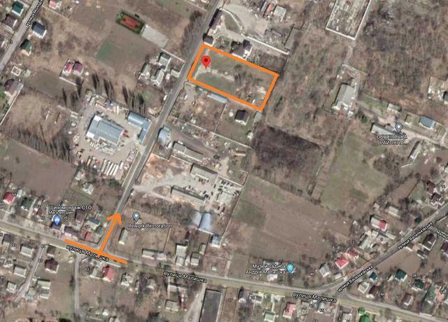 Участок, территория, площадка 0,5га г.Обухов, Малышка, 54