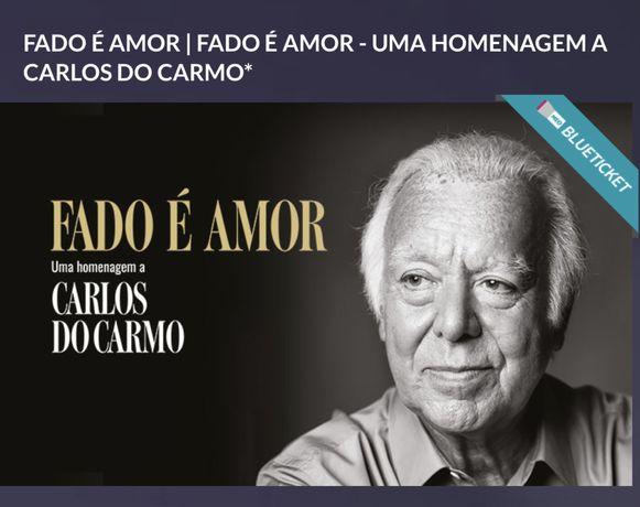 2 bilhetes para a plateia vip do Altice Arena: Fado é amor