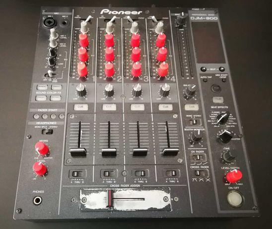 Pioneer DJM 800 Mixer + Case