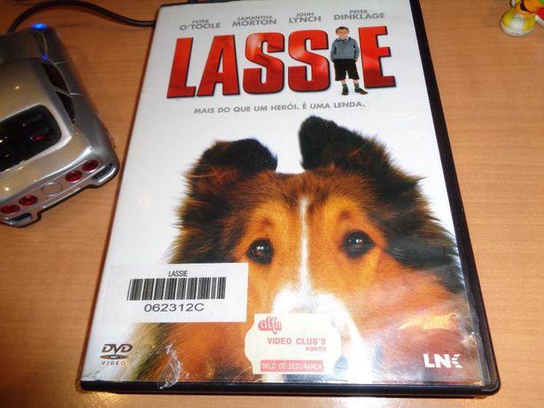 DVD Lassie usado uma aventura imperdivel para toda a familia
