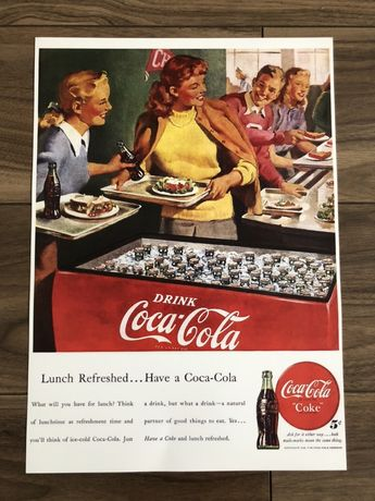 Plakat poster Coca-Cola nowy