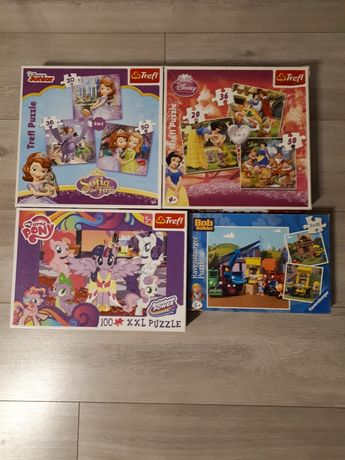 Puzzle 4 komplety