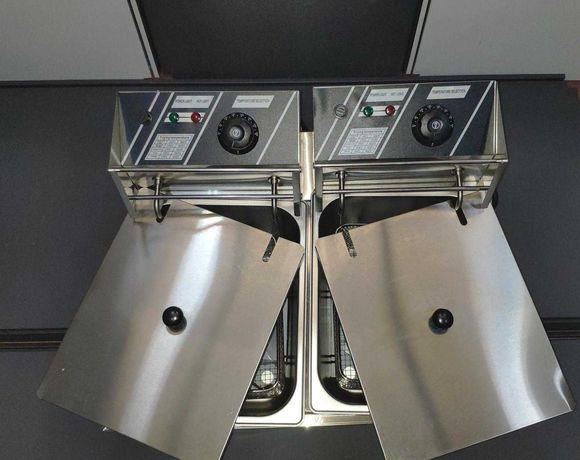 Fritadeira Industrial Eléctrica 6+6L NOVA