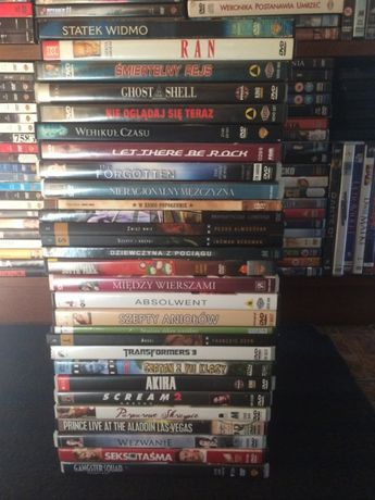 Kolejna paczka filmów na DVD - proszę przeczytać opis!