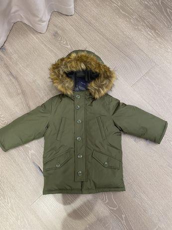 Зимняя куртка GAP для мальчика 2-3 года