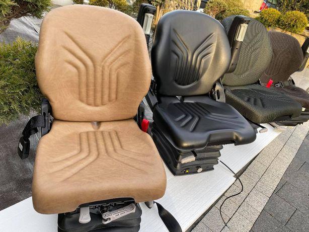 Siedzenie Fotel Grammer sadownik mechaniczne pneumatyczne.