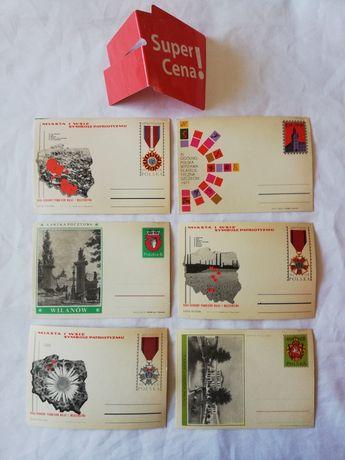 kartki pocztowe kolekcjonerskie z epoki PRLu Nowe
