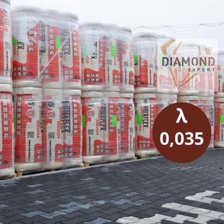 Wełna Mineralna-20cm Poddasza-Domy Szkieletowe- 0,035 - Diamond Expert