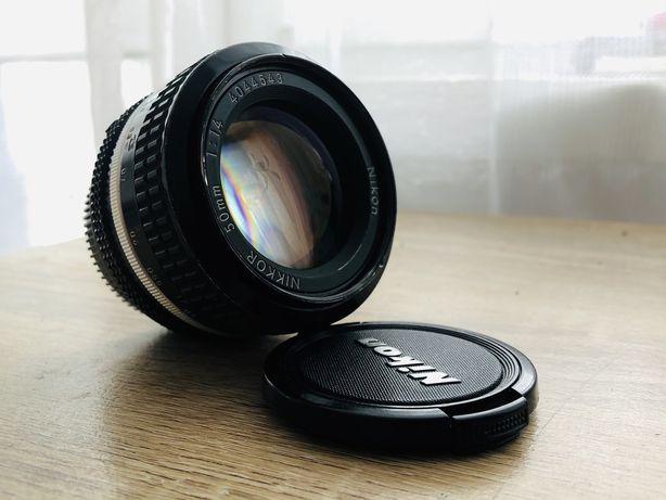 Nikon Nikkor 50 mm 1.4 Ai