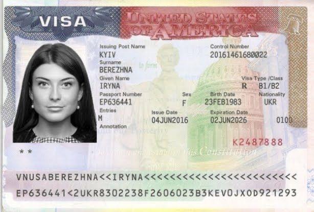 Віза в США  в 2021 термінове отримання