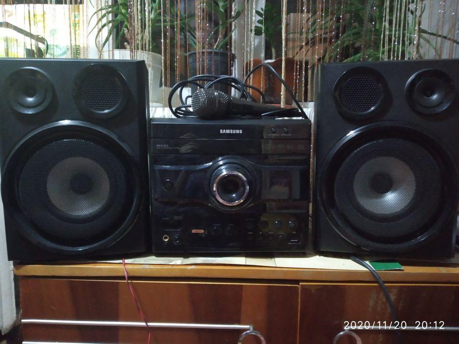 Музыкальный центр Samsung max-G55 Измаил - изображение 1