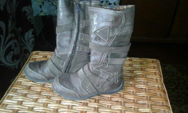 Д Емі чобітки сапожки ботинки шкіряні