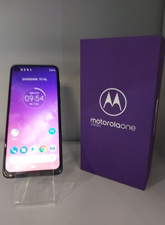 Telefon Motorola one VISION 4/128gb sapphire gradient Gwarancja