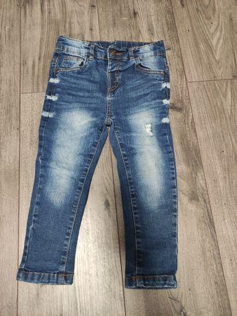 Spodnie chłopięce rozmiar 98