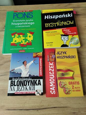 Książki do nauki j. hiszpańskiego
