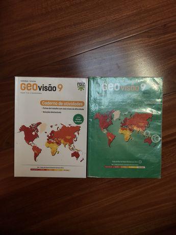 Manual + Caderno de atividades Geografia 9°ano