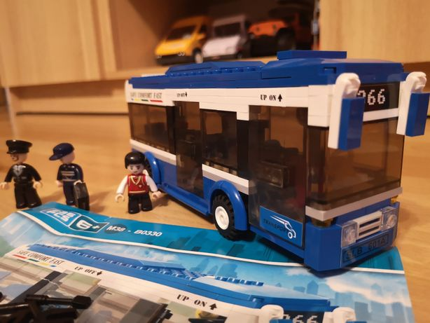 Klocki Sluban Autobus miejski