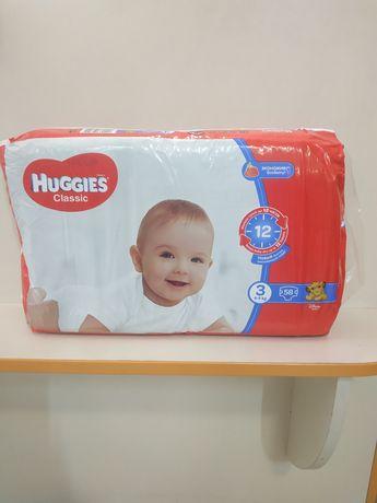 Памперси Huggies classic 3,4,5
