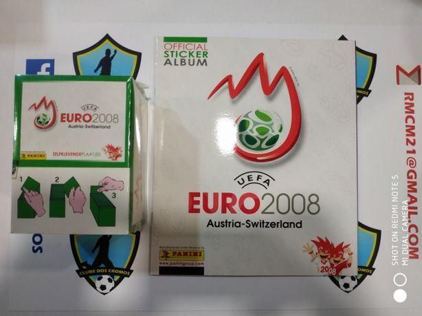 100 saquetas mais caderneta vazia euro 2008 panini