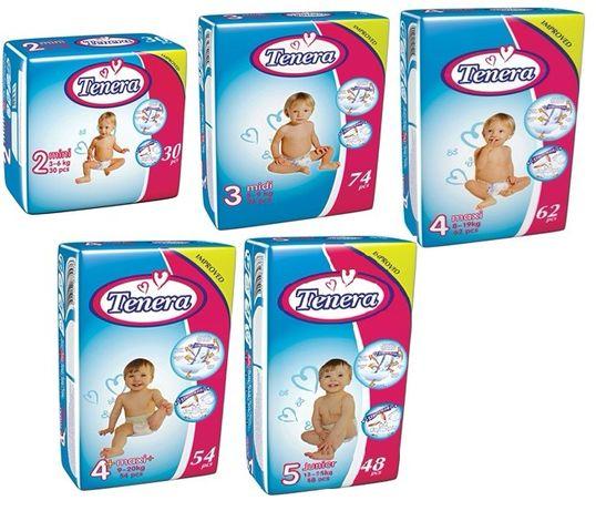 Подгузники детские Tenera Premium Jumbo Pack 4