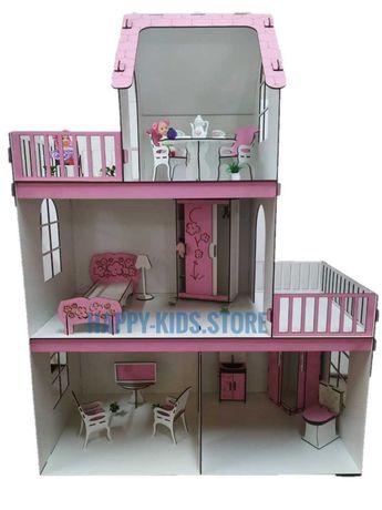 Кукольный домик для Барби с мебелью! Ляльковий будинок Барбі