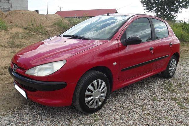 Peugeot 206 Ładny 1,1 benzyna,2003 rok, pięć drzwi, mały przebieg.