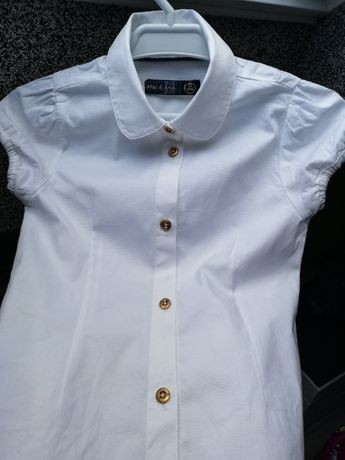 Koszula krótki rękaw r. 104
