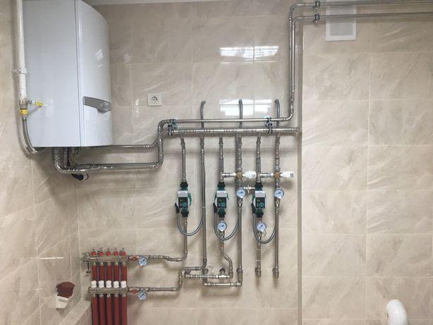 Послуги Сантехніка, монтаж опалення водопостачання каналізації