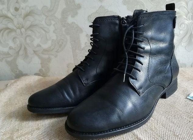 Ботинки кожаные Vero Cuoio(оригинал)