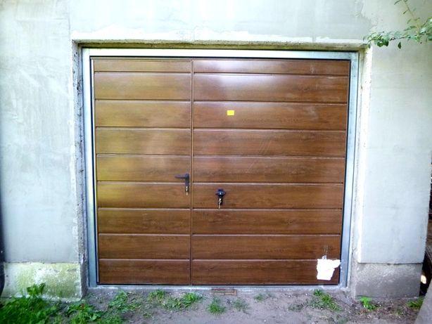 Brama garażowa uchylna Brama dwuskrzydłowa Bramy garażowe PRODUCENT