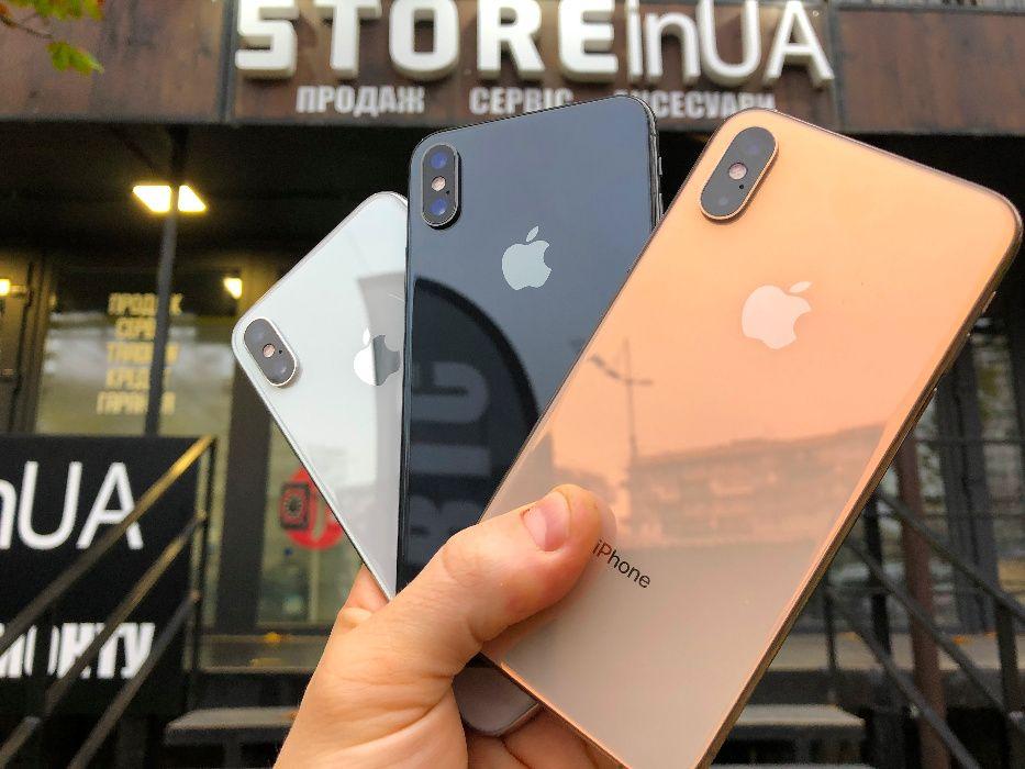 Идеал iPhone XS Все цвета 64GB\256GB. Гарантия 3 месяца! Рассрочка Киев - изображение 1